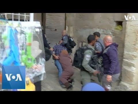 Clashes Erupt After Israel Closes Jerusalem Holy Site