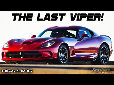 The Last Dodge Vipers, Electric Maserati, Volkswagen Cutting Models - Fast Lane Daily