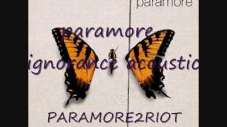 FREE DOWNLOAD paramore ignorance acoustic radio 1 live lounge