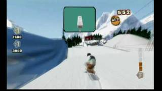 Shaun White Snowboarding - Road Trip! - Wii Remote Big Air Controls