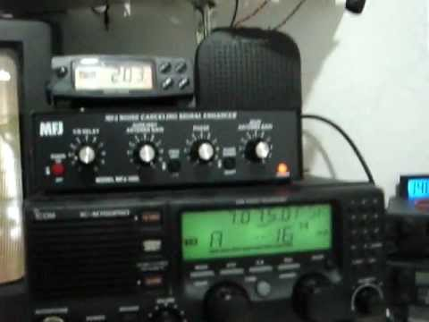 Icom IC-M700PRO SSB HF Radiotelephone on 7.075 mhz @ 200 watts
