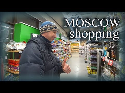 "Moscow ""Perekrestok"" Store: Greedy and Rich Alex Makes his Choice"