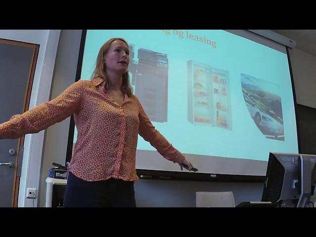 Hva er sirkulærøkonomi? Foredrag med Ebba Boye