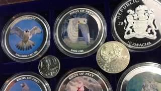 Хищные птицы на никелевой монете познаём природу с каналом ИП и профи Иван интересно Всем