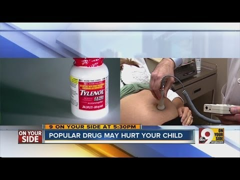 Study: Acetaminophen linked to ADHD in children