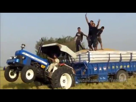 TOP of Funny Tractor FAILS Compilation January 2016 NEW 5 min