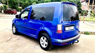VW Caddy 2.0 sdi 2007 Полный обзор моего синего истребителя.
