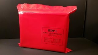2015 Czech Republic BDP-1 MRE Review 24 Hour Combat Ration Ready To Eat Army Meal Tasting Test