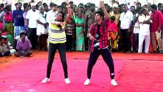 Adaludan Paadal Top Star Performance - Raj Vision