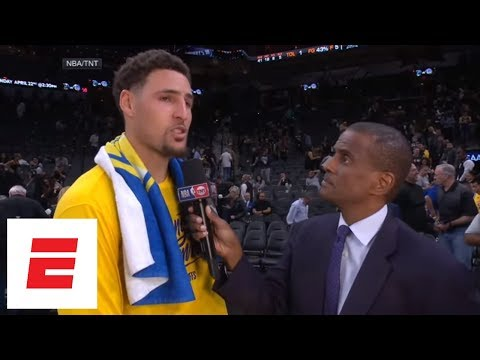 Klay Thompson: We want to close out the series in Game 4 and get everyone back healthy   ESPN
