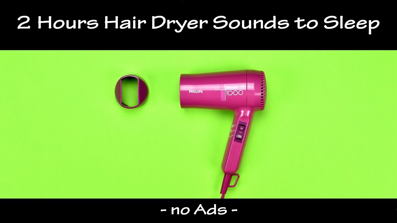 Relaxing Hair Dryer Sound, Sleep Sound