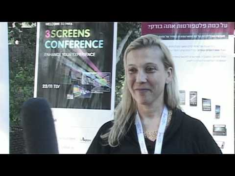 Ornit Shinar, sendm at 3 Screens Conference