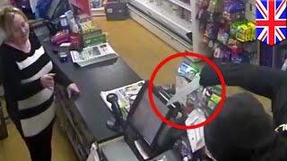 Незадачливый вор решил ограбить магазин, в  котором работала его бывшая тёща