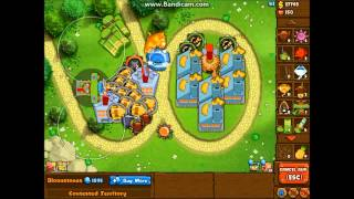 Bloons Monkey City Contested Territory - Grass Terrain