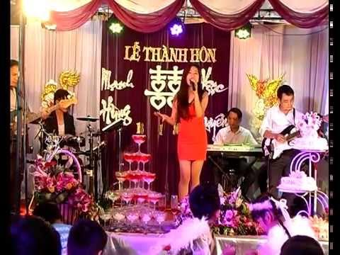 Nếu như anh đến | Gái xinh hát đám cưới | Nhạc sống Đám cưới | Âm thanh Hoành Tráng