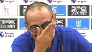 Huddersfield 0-3 Chelsea - Maurizio Sarri Full Post Match Press Conference - Premier League