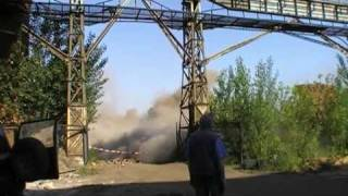 Wyburzanie kominów przemysłowych