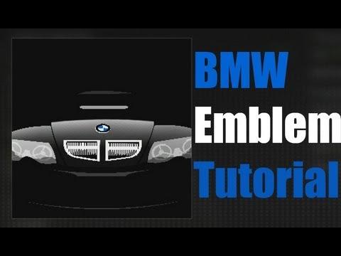 black ops 2 bmw emblem tutorial youtube. Black Bedroom Furniture Sets. Home Design Ideas