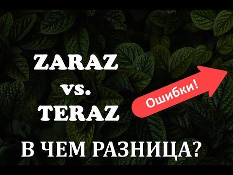 Download Польские слова.Zaraz и teraz. Какая между ними разница?