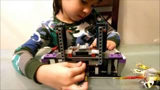4- Year-old Lego Builder -lego Teenage Mutant Ninja Turtles Set 79122 Shredder's Lair Rescue
