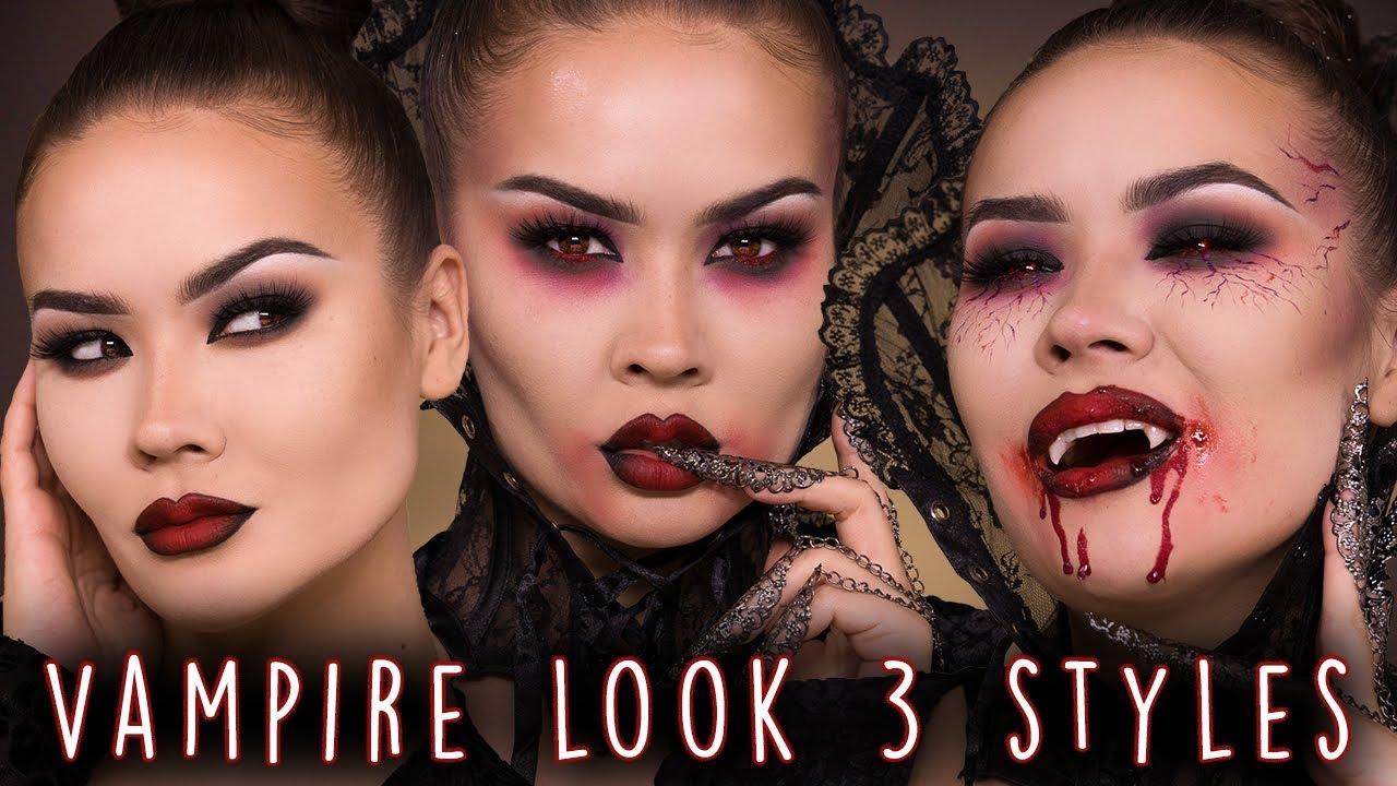 12 Best Vampire Makeup Tutorials for Halloween 12 - How to Do