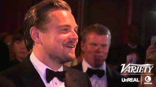 Leonardo DiCaprio waiting to get is Oscar engraved - is everything!