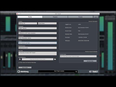Cubase 8.5 New Features - VST Transit