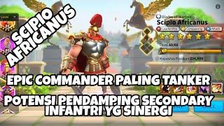 Scipio Africanus - Semi tanker buat pemain gratis | Rise of Kingdoms Indonesia
