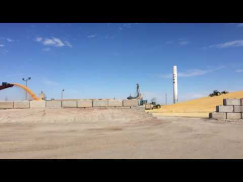 Maize feed lot Colby Kansas