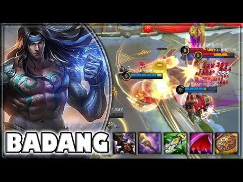 BADANG IRONFISTS [by AMY Framezy] BUILD & GAMEPLAY ~ TOP GLOBAL ~ MOBILE LEGENDS