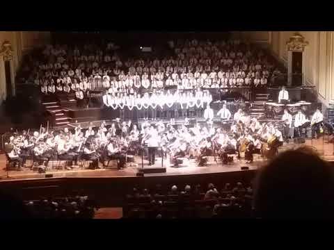 Midlothian Schools Festival of Music Usher Hall 2017 Symphony Orchestra