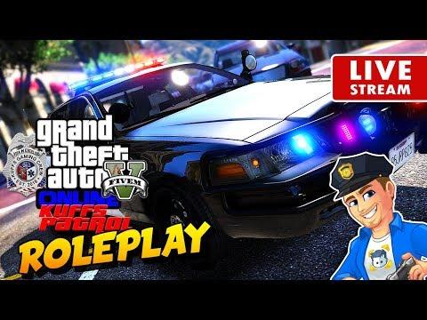 GTA 5 Police Roleplay Online - KUFFS Patrol #12   GTA 5 LSPDFR Online FiveM Multiplayer RP Server