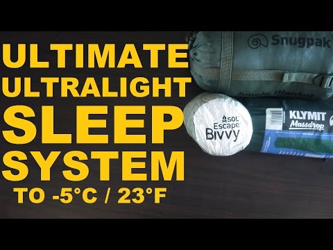 Ultimate Ultralight Sleep System
