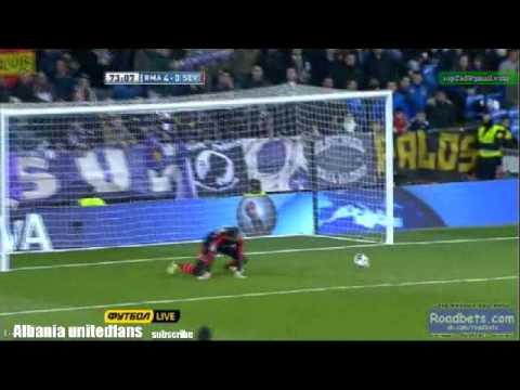 Great save by Diego Lopez v Sevilla