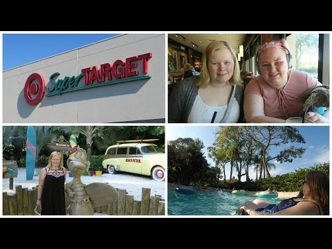 USA Trip : Day 10 - Super Target, Fridays and Typhoon Lagoon (waterpark)