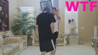 BROTHER SHATTERS GLASS PICTURE FRAME ON MY HEAD | FaZe Rug