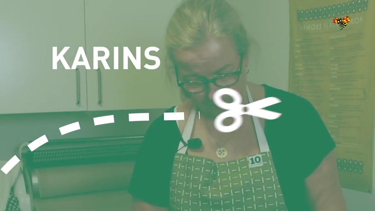 Karins Husmorsskola Ta Bort Stearin Fran Duk