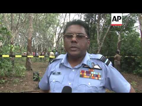 Sri Lanka air force plane crashes, killing several  people