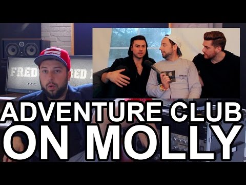 Interviewing ADVENTURE CLUB on MOLLY
