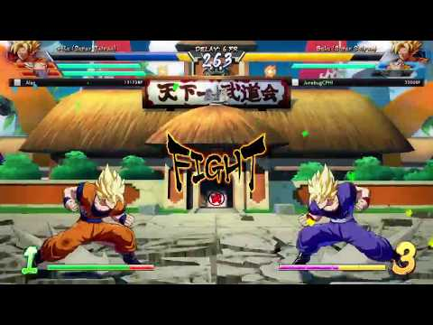 SOMEBODY DONE TOLD YOU WRONG PLAYA!!! CALL IT A COMEBACK - DRAGON BALL FIGHTER Z (BETA GAMEPLAY)
