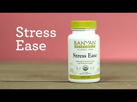 Stress Ease Herbal Supplements For Stress Relief Youtube