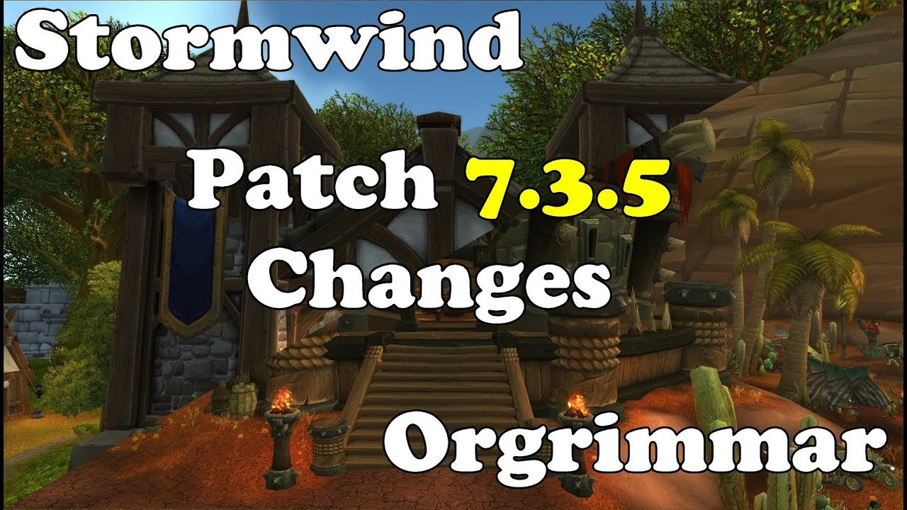 how to get under orgrimmar 7.3.5
