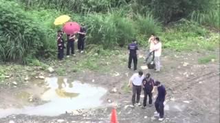竹東河濱公園驚見女屍 疑為國中女生