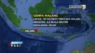 Gempa 6,2 SR Guncang Malang
