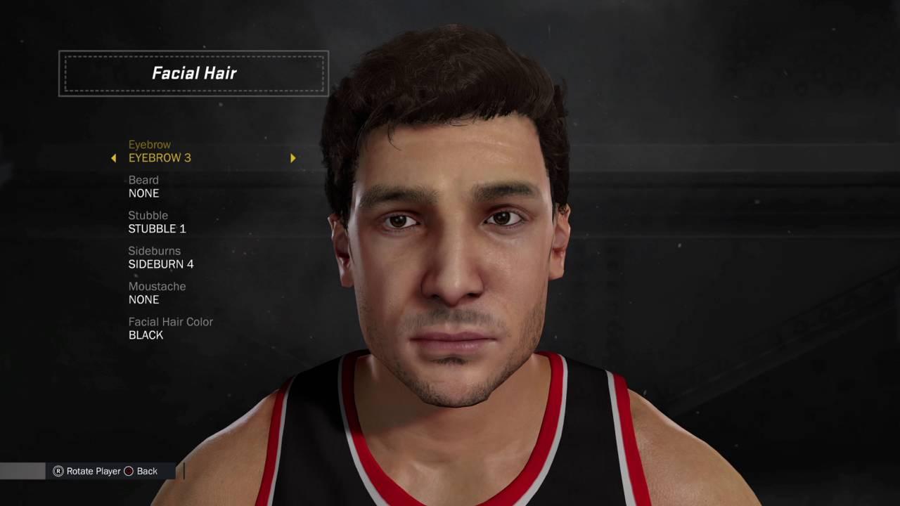NBA 2K17 Creation Tutorial Rony Seikaly