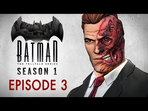 Batman: The Telltale Series - Episode 3 - New World Order (Full Episode)