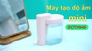 Tránh khô da với máy tạo độ ẩm mini Sothing