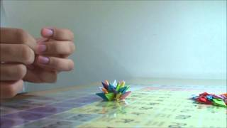 The Making Of The World's Smallest Origami Stuvwxyz Star