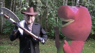 Jeepers Creepers Vs Barney The Dinosaur