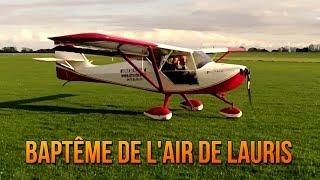 Vol en Avion (ULM) à Liernu // Baptême de l'air de Lauris pour son anniversaire // 10-11-13